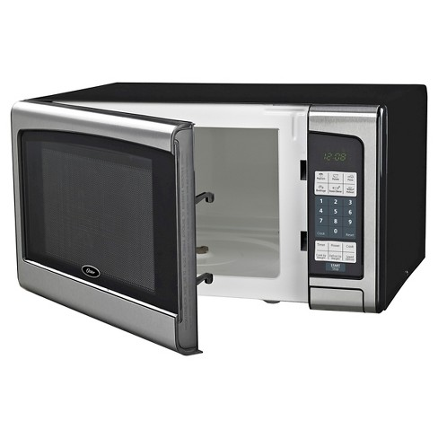 Oster 1 Cu Ft 1000 Watt Digital Microwave Oven Stainless Steel Ogj41101 Target