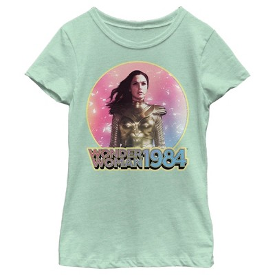 Girl's Wonder Woman 1984 Golden Moment T-Shirt