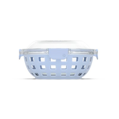 Ello 5.5 Cup Glass Lunch Bowl - Blue
