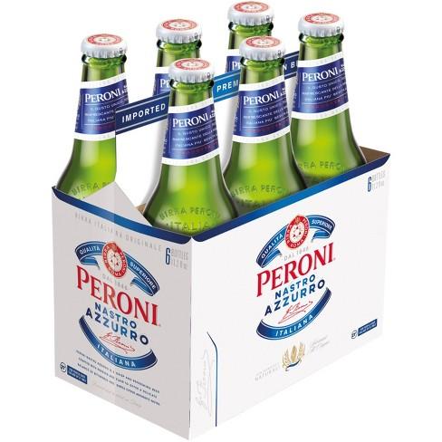 Peroni Nastro Azzurro Pale Lager - 6pk/11.2 fl oz Bottles - image 1 of 1