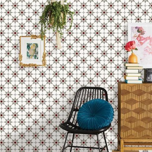 Star Mosaic Tile Peel Stick Wallpaper Opalhouse Target