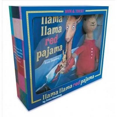 Llama Llama Red Pajama Book and Plush - by  Anna Dewdney (Mixed media product)