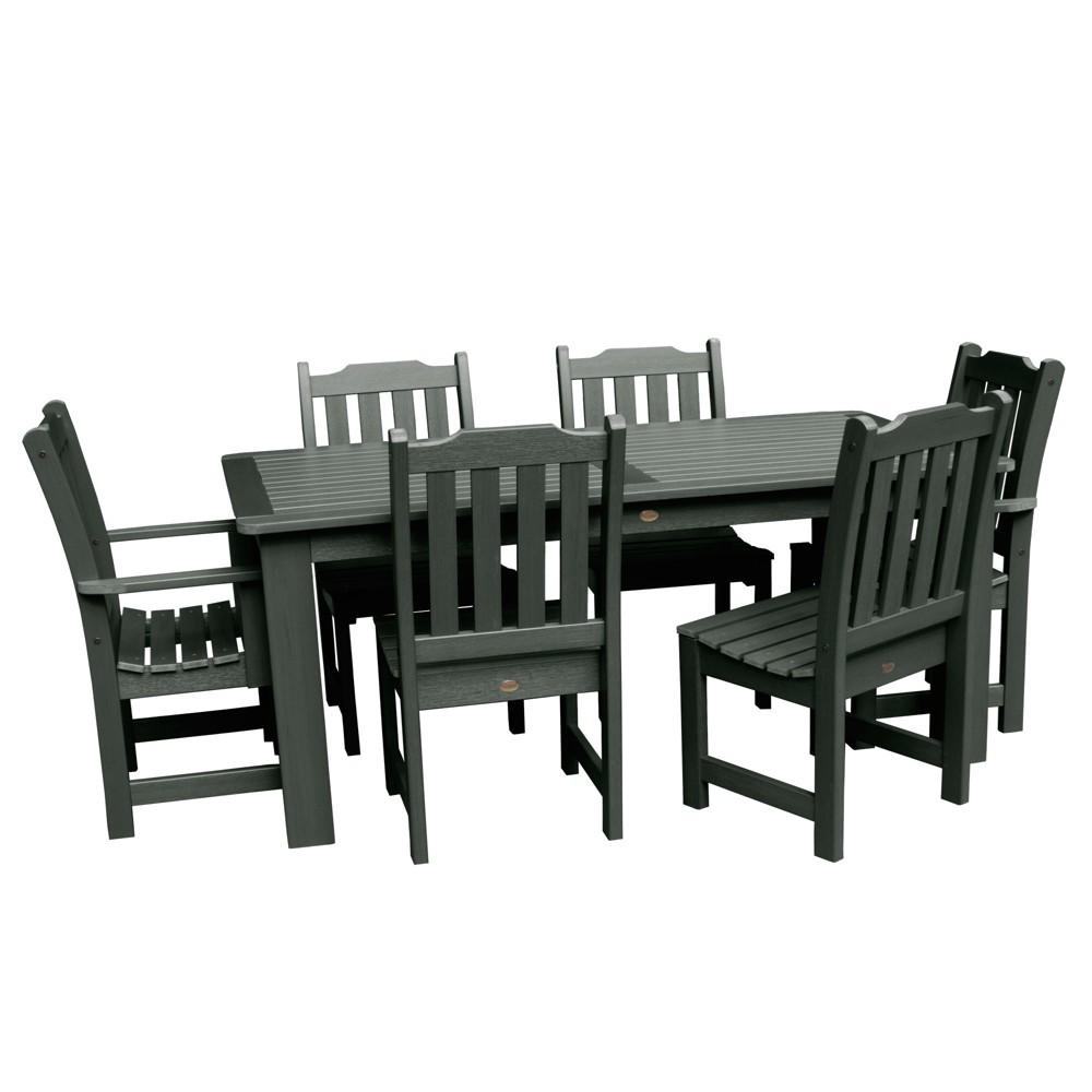 Lehigh 7pc Rectangular Dining Set Charleston Green - Highwood