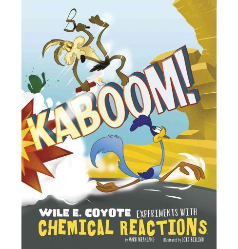 Kaboom! : Wile E. Coyote Experiments With Chemical Reactions (Paperback) (Mark Weakland) - image 1 of 1