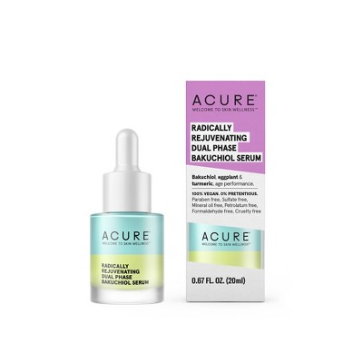 Acure Radically Rejuvenating Dual Phase Bakuchiol Serum - 0.67 fl oz