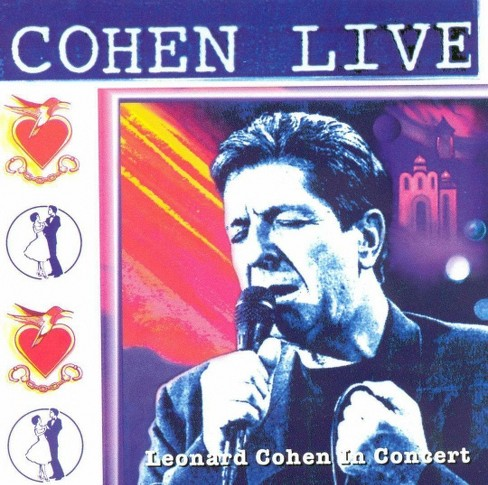 Leonard cohen - Cohen live:Leonard cohen live in conc (CD) - image 1 of 1
