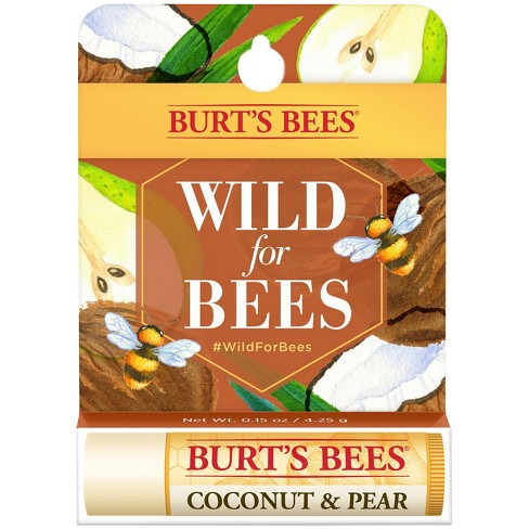 64c9eb40a Burt s Bees Lip Balm Coconut   Pear Spring Cause - .15oz   Target