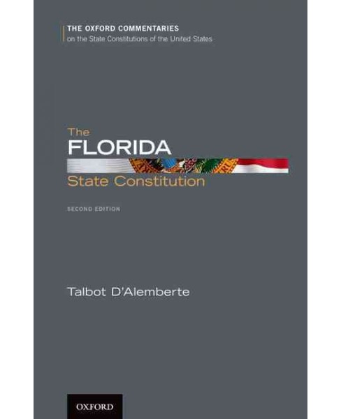 Florida State Constitution (Hardcover) (Talbot D'Alemberte) - image 1 of 1