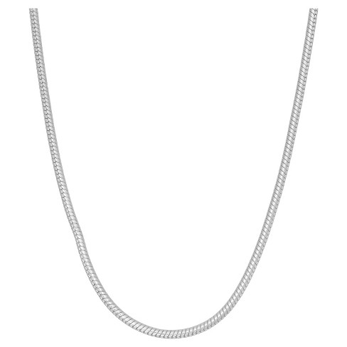 Tiara Sterling Silver Snake Chain Necklace - image 1 of 1