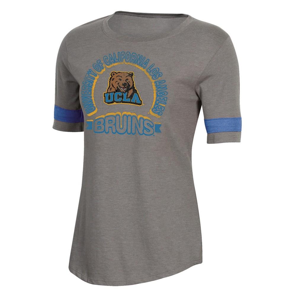 NCAA Women's Short Sleeve Scoop Neck T-Shirt Ucla Bruins - S, Multicolored