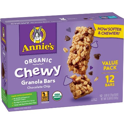 Annie's Chocolate Chip Chewy Value Pack - 10.6oz