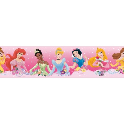 Disney Princess Dream From The Heart Peel and Stick Wallpaper Border - RoomMates