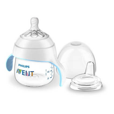 Philips Avent My Natural Trainer Sippy Cup 5oz Clear