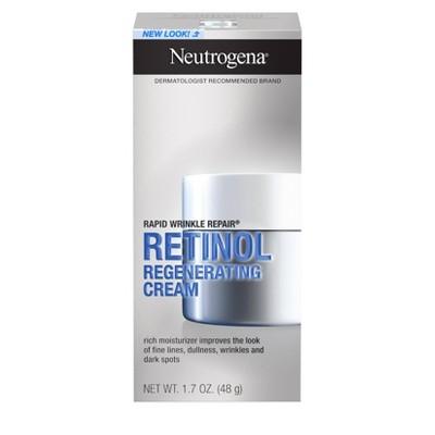 Neutrogena Rapid Wrinkle Repair Hyaluronic Acid & Retinol Cream - 1.7oz
