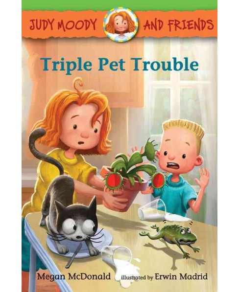 Triple Pet Trouble (School And Library) (Megan McDonald) - image 1 of 1