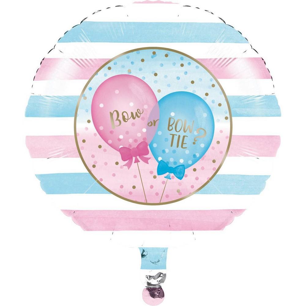 Gender Reveal Mylar Party Balloon