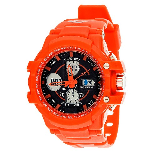 Men's Everlast&#174 Analog and Digital Watch Red - image 1 of 1