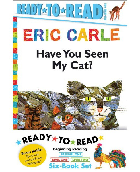 Eric Carle Ready-to-Read Value Pack : Have You Seen My Cat? / Walter the Baker / The Greedy Python / - image 1 of 1
