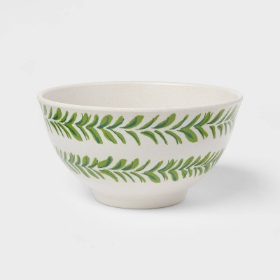 22.5oz Melamine and Bamboo Pineapple Cereal Bowl - Opalhouse™