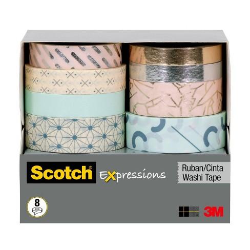 Scotch 8pk Expressions Washi Tape - image 1 of 2
