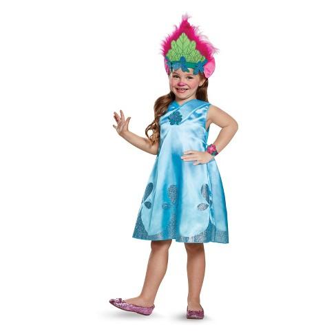 Girls Trolls Poppy Exclusive Halloween Costume Target
