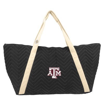 NCAA Little Earth Chevron Stitch Weekender Bag