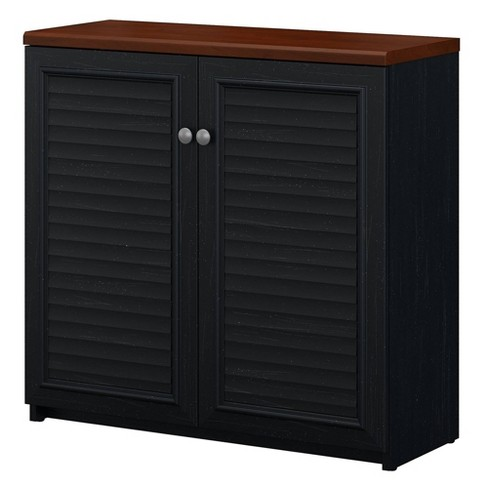 Fairview Small Storage Cabinet With Doors - Bush Furniture - image 1 of 4