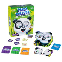 Educational Insights Panda Rollers - The Game Of Color-Matching Panda-Monium!