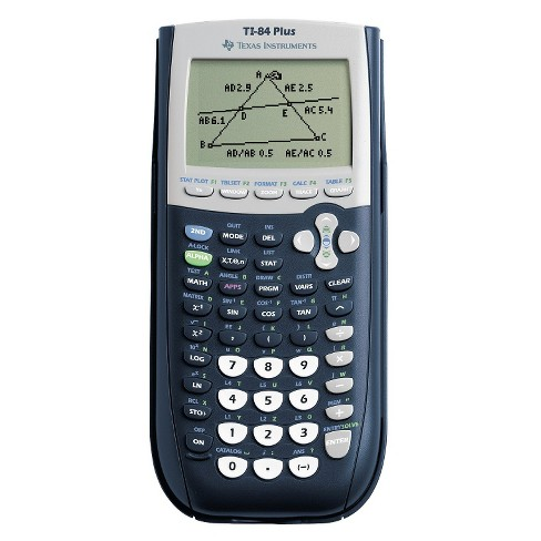 texas instruments graphing calculator - black (ti-84+) : target