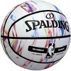 "Spalding Marble 29.5"" Basketball - White - image 2 of 4"