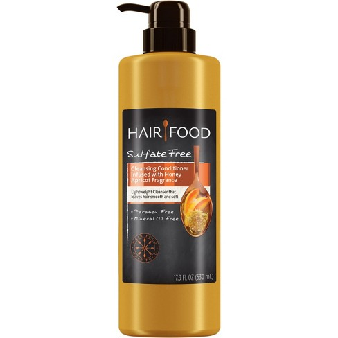 Hair Food Sulfate Free Moisture Infused Honey Apricot Cleansing Conditioner - 17.9 fl oz - image 1 of 4