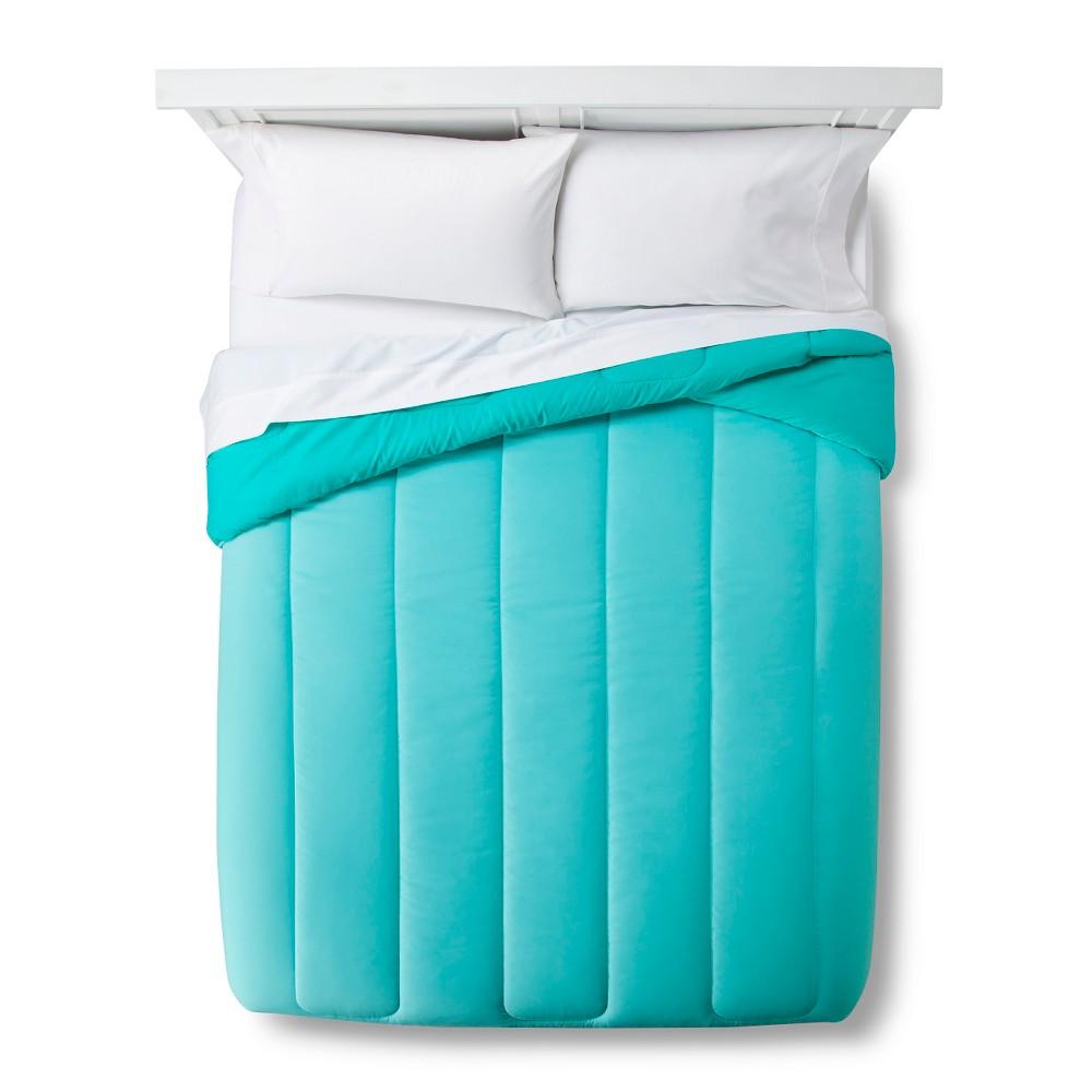Reversible Microfiber Comforter - Room Essentials, Turquoise