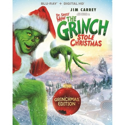 Dr. Seuss' How The Grinch Stole Christmas (Blu-Ray)