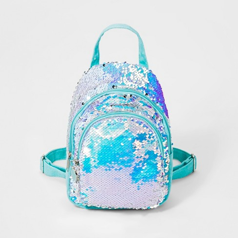 Girls' Flip Sequin Mermaid Mini Backpack - Cat & Jack™ - image 1 of 2