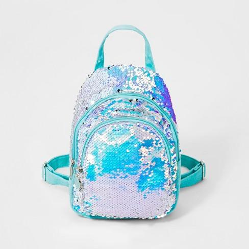 287f7852e99 Girls  Flip Sequin Mermaid Mini Backpack - Cat   Jack™   Target