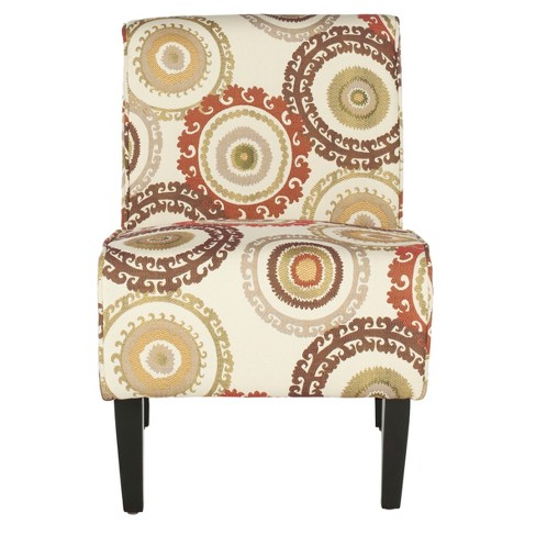 Marka Armless Chair Multi Color - Safavieh® - image 1 of 4