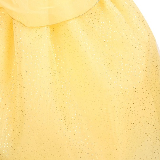 Girl's Beauty and the Beast Belle Costume - 4T - Disney store, Women's, Yellow image number null