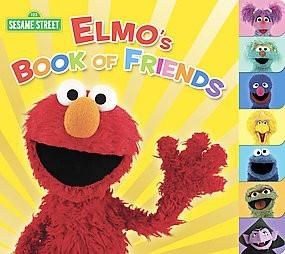 Elmo's Book of Friends - (Sesame Street (Random House)) by  Naomi Kleinberg (Board Book)