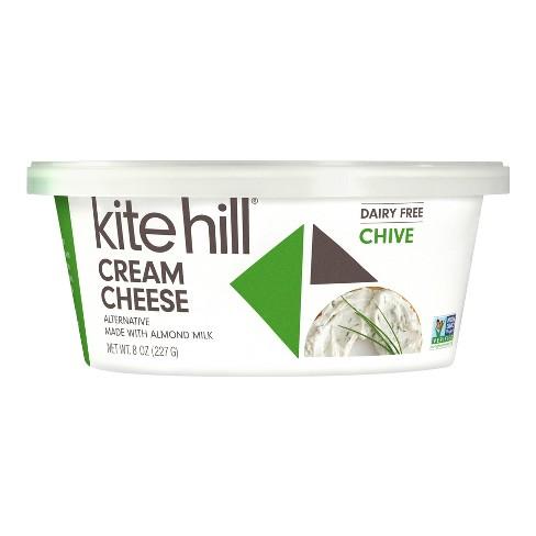 Kite Hill Chive Almond Milk Cream Cheese Spread - 8oz - image 1 of 4