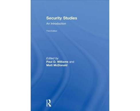Security Studies : An Introduction -  (Hardcover) - image 1 of 1