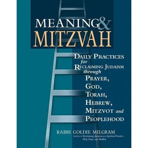Meaning & Mitzvah - by  Goldie Milgram (Paperback) - image 1 of 1