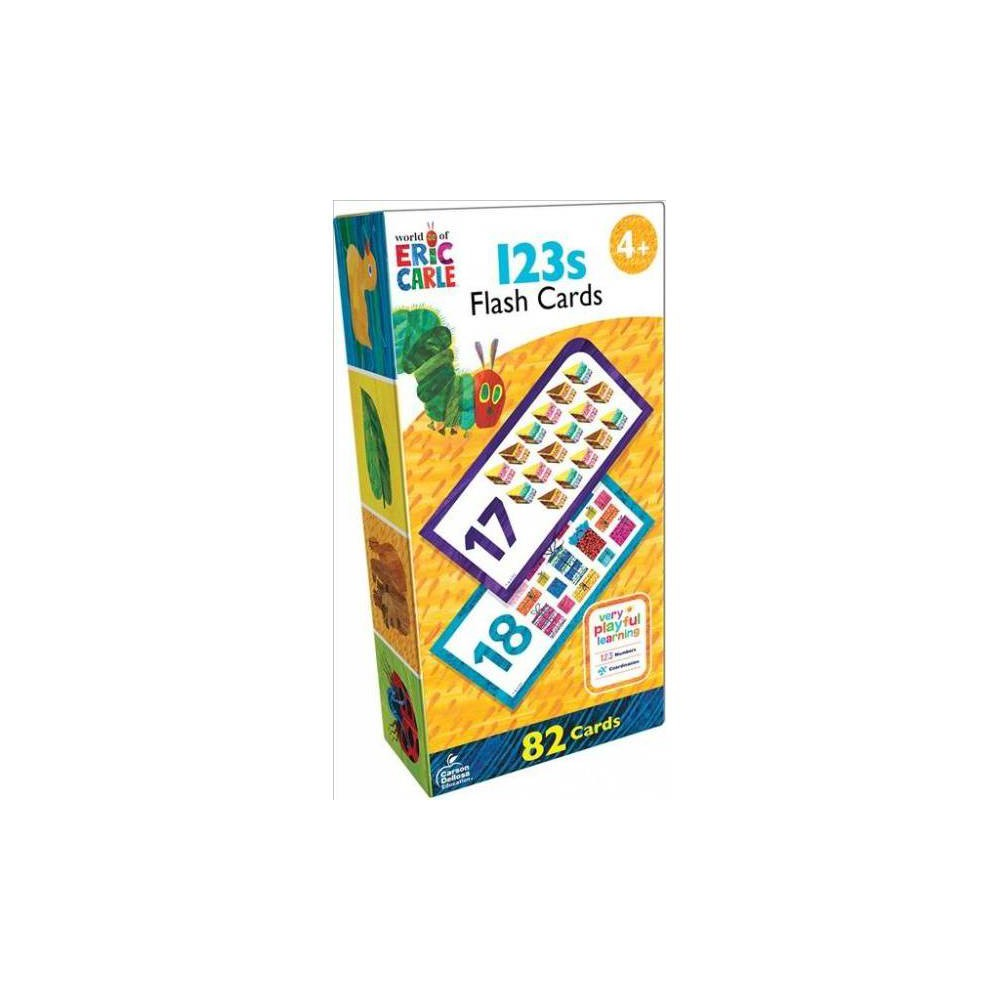 World of Eric Carle 123s Flash Cards - Crds (Paperback)