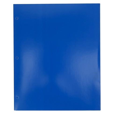 Paper Folder 2 Pocket Blue Pallex