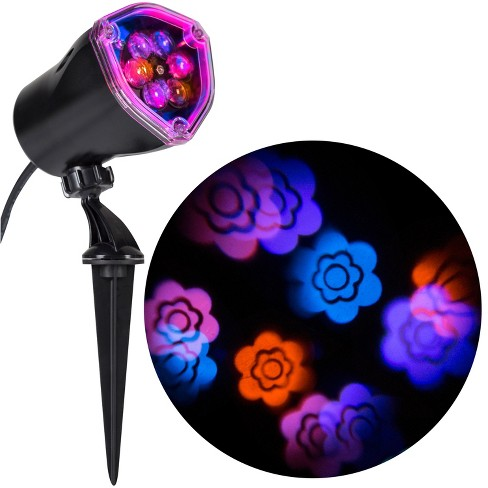 Gemmy Lightshow Projection   Flower (Pink/Blue/Purple/Yellow), Multicolored - image 1 of 2