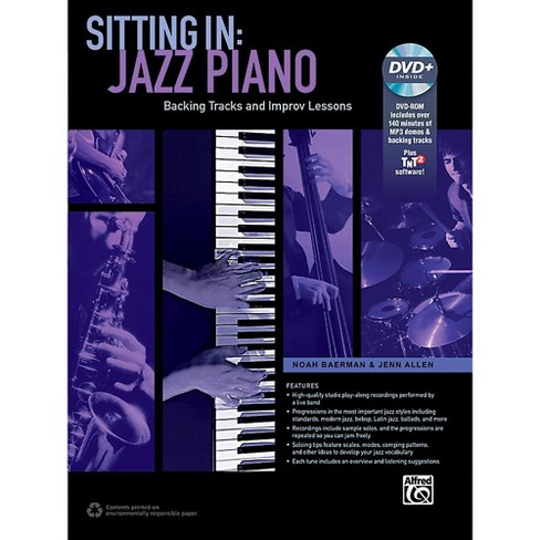 Alfred Sitting In: Jazz Piano Book & DVD-ROM - image 1 of 1