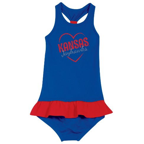Kansas Jayhawks After Her Heart Toddler Dress - image 1 of 2