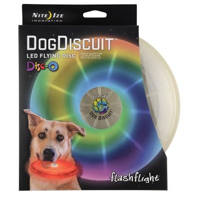 Nite Ize Discuit LED Flying Disc-O Dog Toy