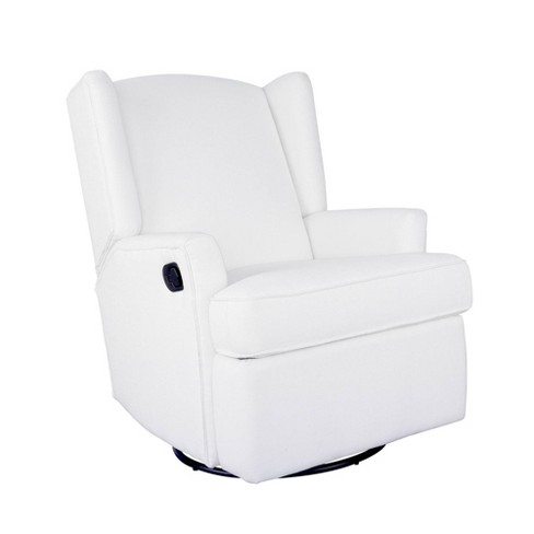 Karla Dubois Hemingway Swivel Accent Chair - White - image 1 of 4