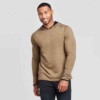 Men's Premium Hooded Layer Pullover - C9 Champion® Midway Brown XXL