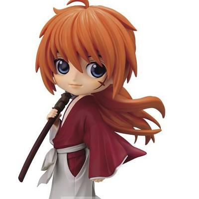 Banpresto Rurouni Kenshin Q Posket Kenshin Himura Figure Statue